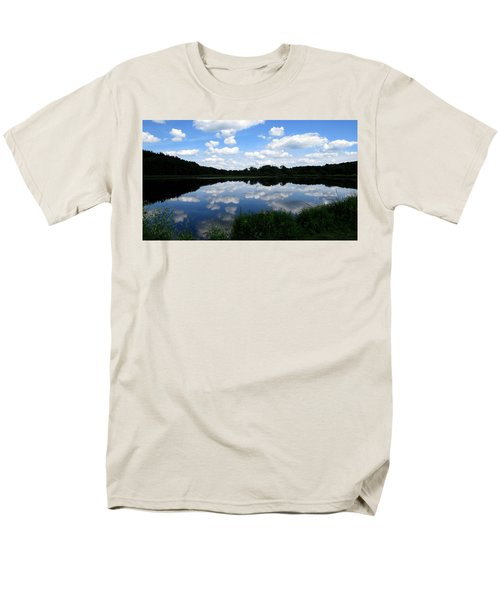 Blue Skies At Cadiz Springs Men's T-Shirt  (Regular Fit) by Kimberly Mackowski