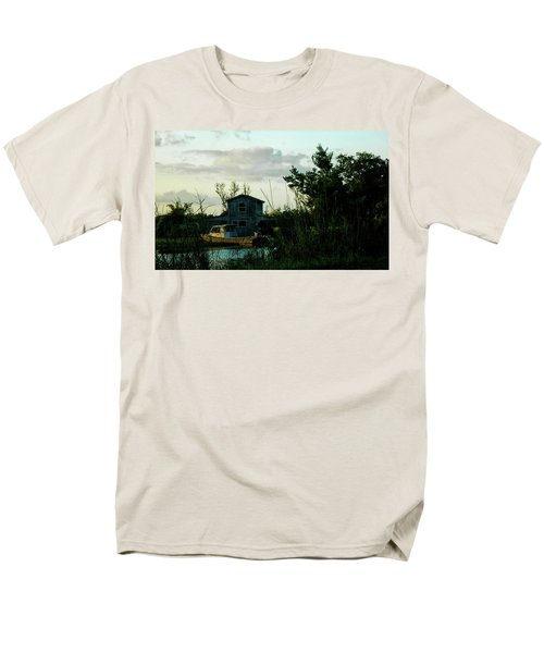 Boat House Men's T-Shirt  (Regular Fit) by Cynthia Powell
