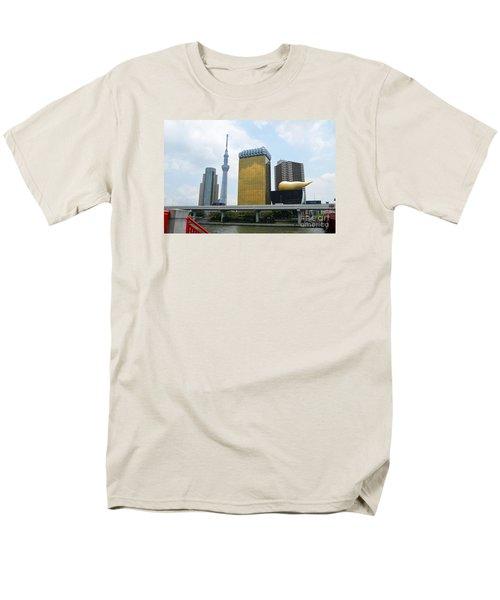 Tokyo Bokutei Dori  Men's T-Shirt  (Regular Fit) by Eva Kaufman