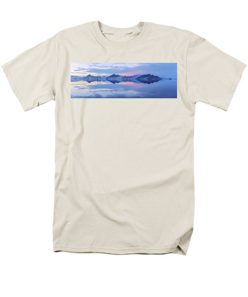 Men's T-Shirt  (Regular Fit) featuring the photograph Bonneville Lake by Chad Dutson