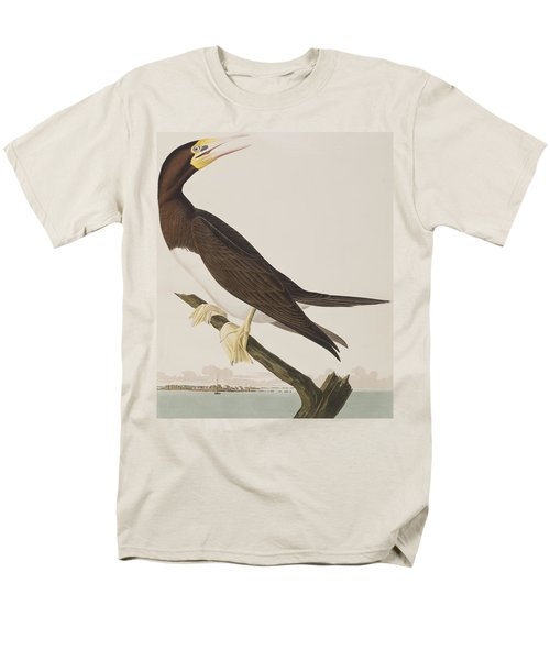 Booby Gannet   Men's T-Shirt  (Regular Fit) by John James Audubon