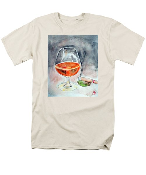 Bourbon And Smoke Men's T-Shirt  (Regular Fit) by Loretta Nash