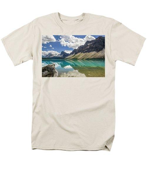 Men's T-Shirt  (Regular Fit) featuring the photograph Bow Lake by Christina Lihani