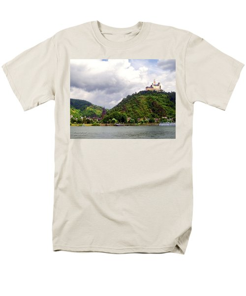 Men's T-Shirt  (Regular Fit) featuring the photograph Brambach Germany by Joan  Minchak