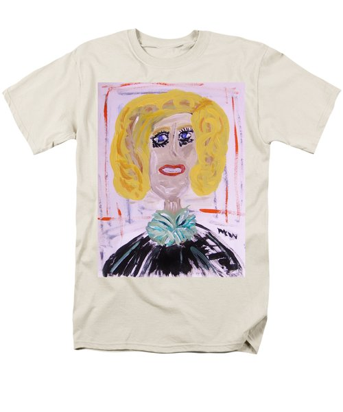 Men's T-Shirt  (Regular Fit) featuring the painting Brash Blond by Mary Carol Williams
