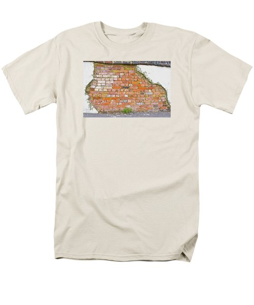 Brick And Mortar Men's T-Shirt  (Regular Fit) by Wanda Krack