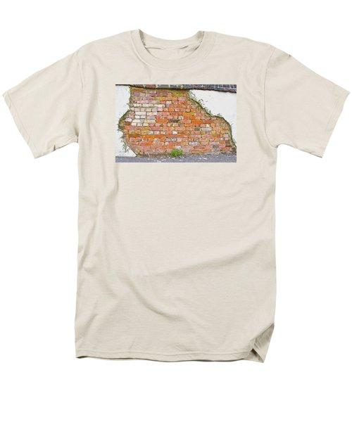 Brick And Mortar Men's T-Shirt  (Regular Fit)