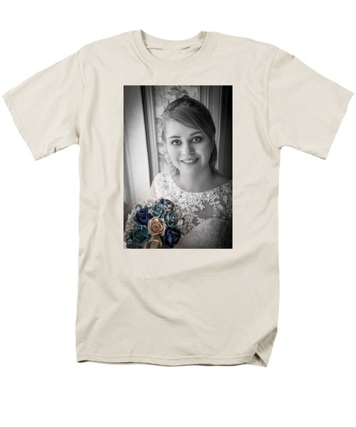 Bride At Window Men's T-Shirt  (Regular Fit)