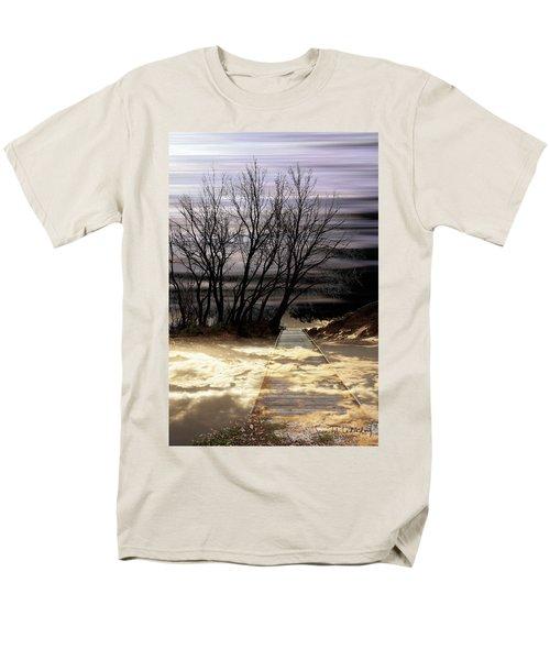 Bridge Men's T-Shirt  (Regular Fit) by Joan Ladendorf
