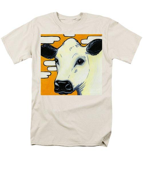 British White Men's T-Shirt  (Regular Fit) by Leanne Wilkes