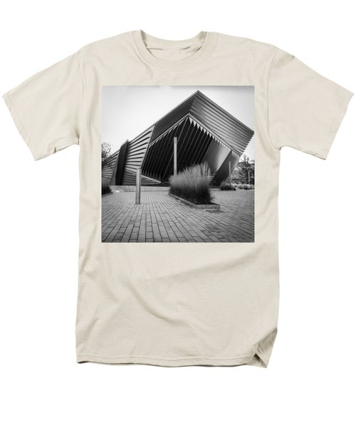 Men's T-Shirt  (Regular Fit) featuring the photograph Broad Art Museum by Larry Carr