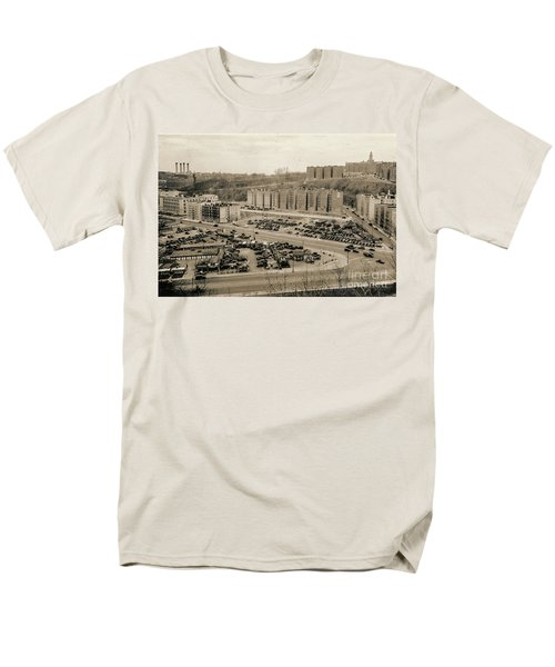 Broadway And Nagle Ave 1936 Men's T-Shirt  (Regular Fit) by Cole Thompson