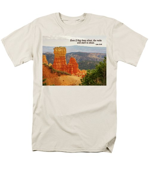 Bryce Canyon Men's T-Shirt  (Regular Fit) by Jim Mathis