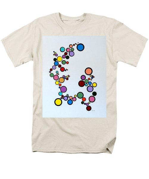 Bubbles2 Men's T-Shirt  (Regular Fit) by Thomas Gronowski