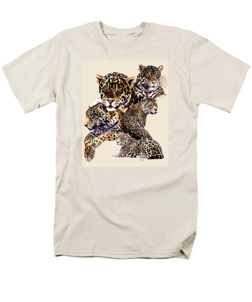 Men's T-Shirt  (Regular Fit) featuring the drawing Burn by Barbara Keith