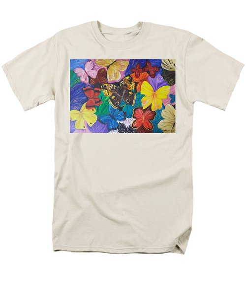 Butterflies Men's T-Shirt  (Regular Fit) by Rita Fetisov