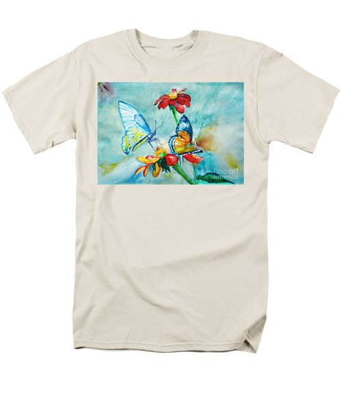 Butterfly Dance Men's T-Shirt  (Regular Fit) by Jasna Dragun