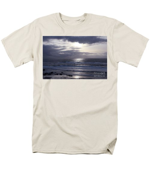 By The Silvery Light Men's T-Shirt  (Regular Fit) by Sheila Ping