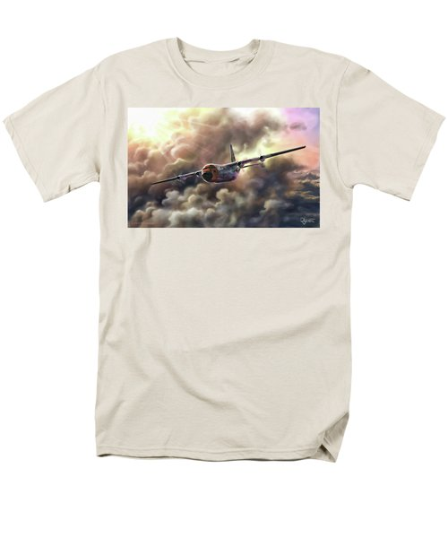 C-130 Hercules Men's T-Shirt  (Regular Fit) by Dave Luebbert