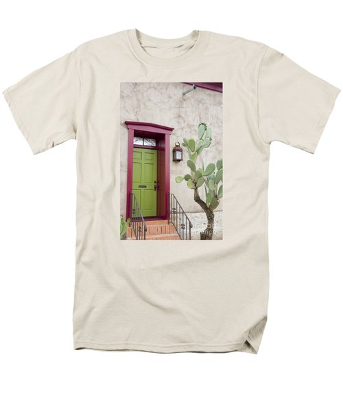 Cactus And Doorway Men's T-Shirt  (Regular Fit) by Elvira Butler