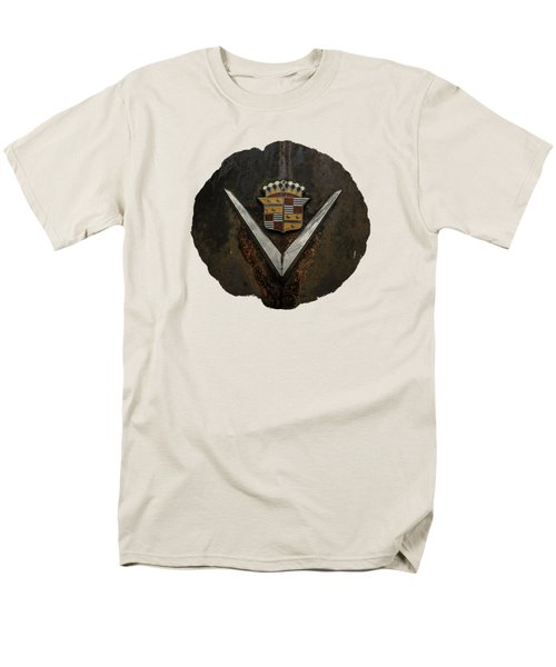 Men's T-Shirt  (Regular Fit) featuring the photograph Caddy Emblem by Debra and Dave Vanderlaan