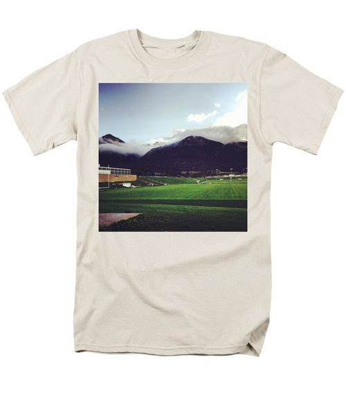 Cadet Athletic Fields Men's T-Shirt  (Regular Fit) by Christin Brodie