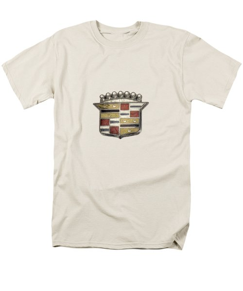 Cadillac Badge Men's T-Shirt  (Regular Fit) by YoPedro