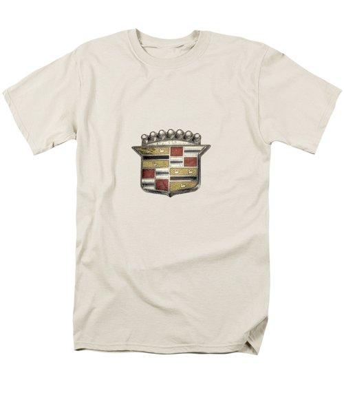 Cadillac Badge Men's T-Shirt  (Regular Fit)
