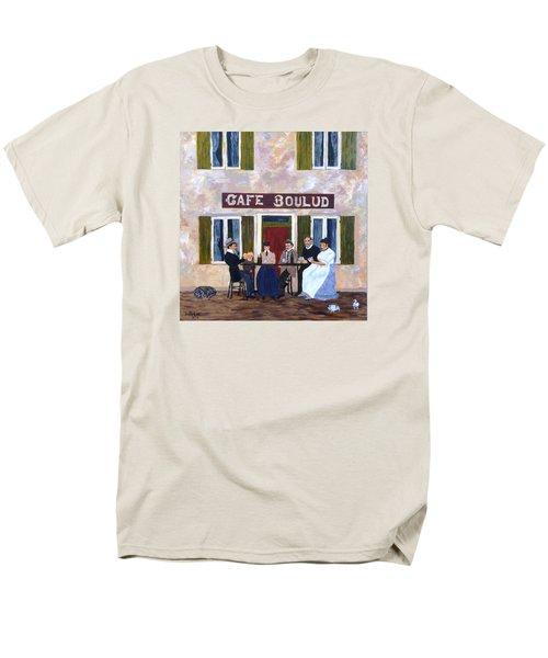 Cafe Boulud Men's T-Shirt  (Regular Fit) by Diane Arlitt
