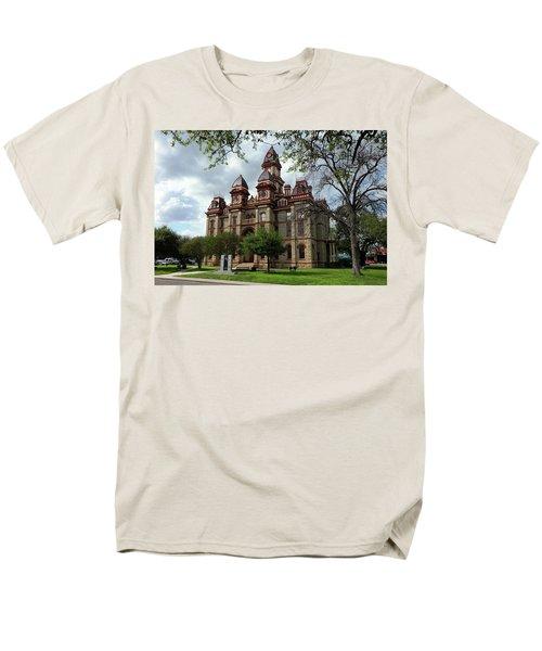 Men's T-Shirt  (Regular Fit) featuring the photograph Caldwell County Courthouse by Ricardo J Ruiz de Porras