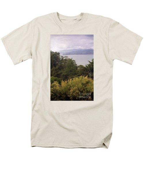 California Coast Fan Francisco Men's T-Shirt  (Regular Fit) by Ted Pollard