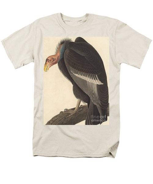 Californian Vulture Men's T-Shirt  (Regular Fit) by John James Audubon