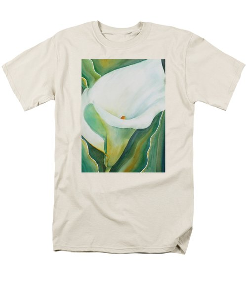 Calla Lily Men's T-Shirt  (Regular Fit) by Ruth Kamenev