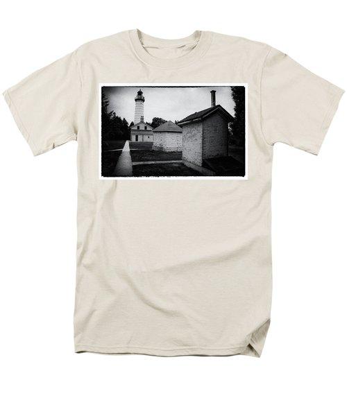 Cana Island Retro Men's T-Shirt  (Regular Fit) by Janice Adomeit