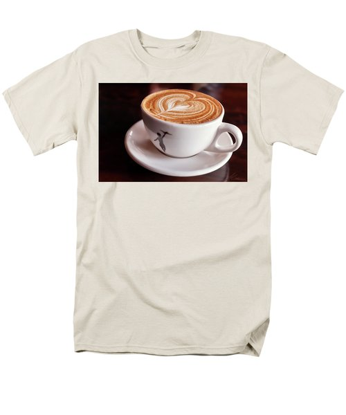 Cappuccino Men's T-Shirt  (Regular Fit) by Anthony Citro