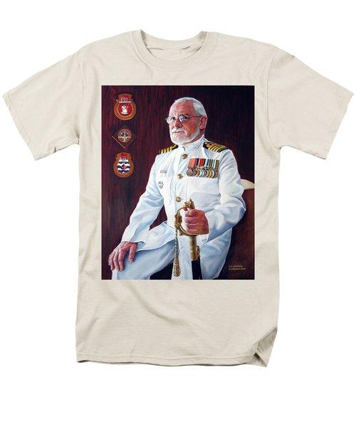 Capt John Lamont Men's T-Shirt  (Regular Fit) by Tim Johnson