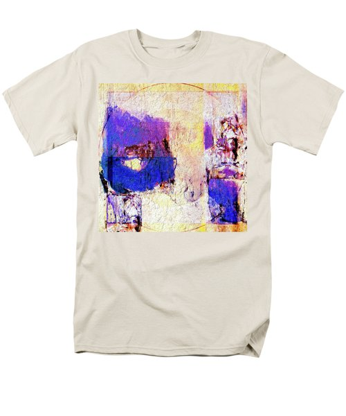 Men's T-Shirt  (Regular Fit) featuring the painting Captiva by Dominic Piperata