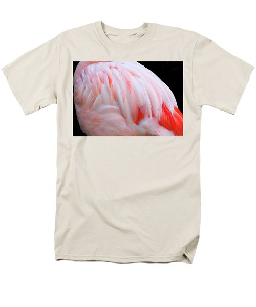 Cascading Feathers Men's T-Shirt  (Regular Fit) by Elvira Butler