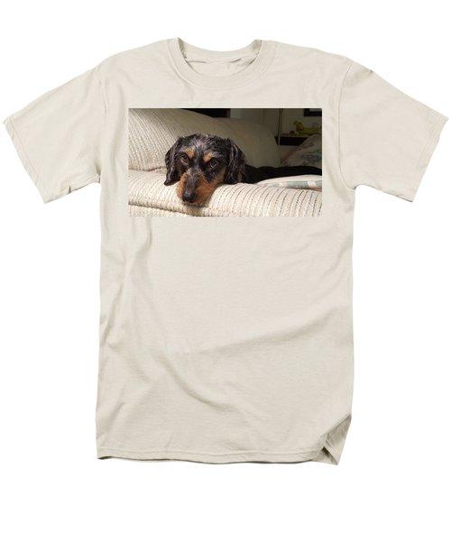 Cassie Men's T-Shirt  (Regular Fit) by Judy Wanamaker