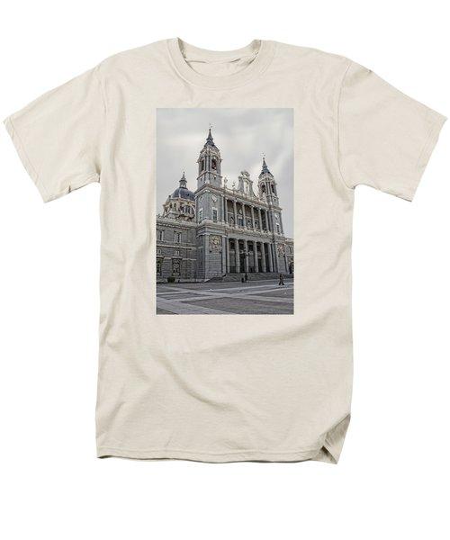 Catedral De La Almudena Men's T-Shirt  (Regular Fit) by Angel Jesus De la Fuente