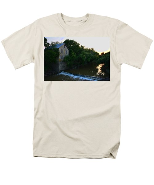 Cedar Point Mill Men's T-Shirt  (Regular Fit) by Keith Stokes