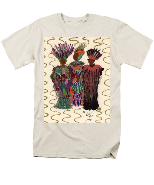 Men's T-Shirt  (Regular Fit) featuring the mixed media Celebration by Angela L Walker