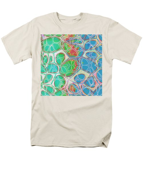 Cell Abstract 10 Men's T-Shirt  (Regular Fit) by Edward Fielding