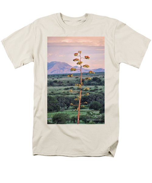 Men's T-Shirt  (Regular Fit) featuring the photograph Centuryplant by Gina Savage