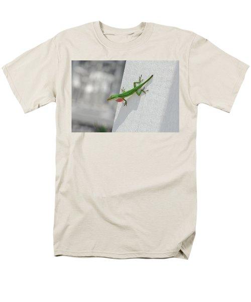 Chameleon Men's T-Shirt  (Regular Fit) by Robert Meanor