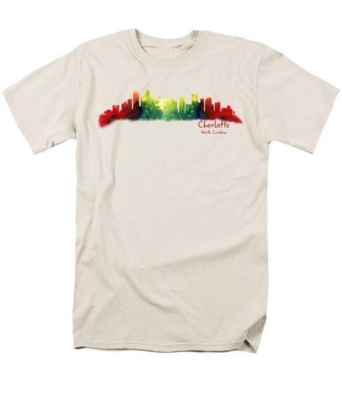 Charlotte North Carolina Tshirts And Accessories Men's T-Shirt  (Regular Fit) by Loretta Luglio
