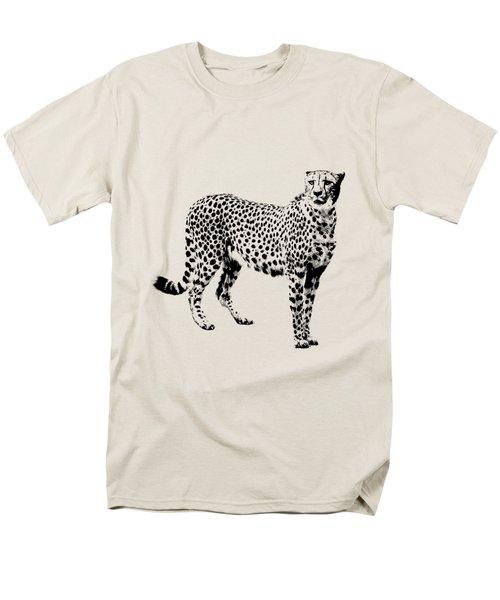 Cheetah Cutout Men's T-Shirt  (Regular Fit) by Greg Noblin