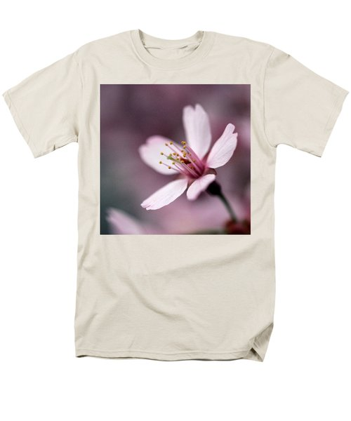 Cherry Blossom Men's T-Shirt  (Regular Fit) by Joseph Skompski