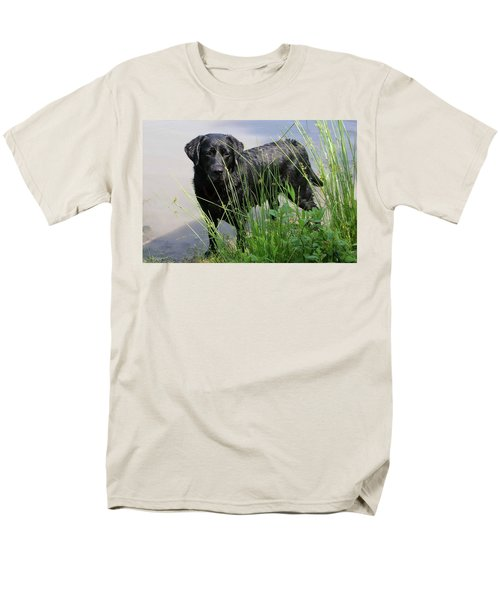 Men's T-Shirt  (Regular Fit) featuring the photograph Chicago 0121 by Guy Whiteley