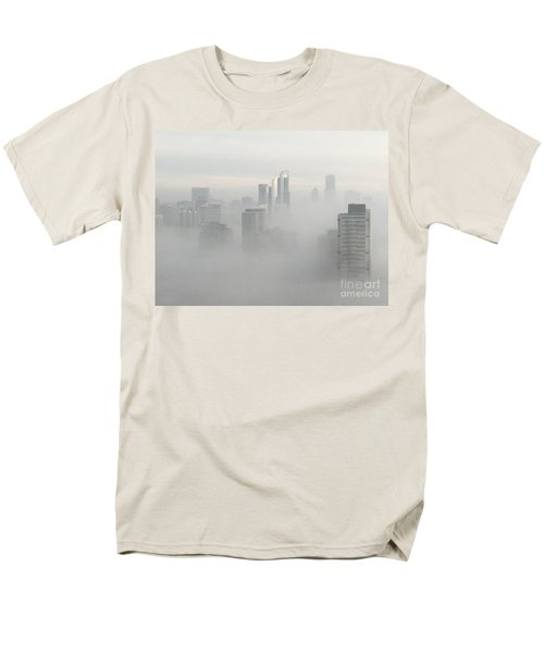 Chicago In The Clouds Men's T-Shirt  (Regular Fit) by Kate Purdy